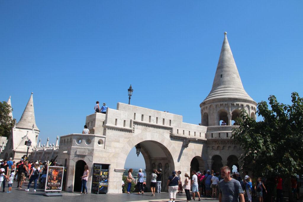 ingang Visserbastion Boedapest