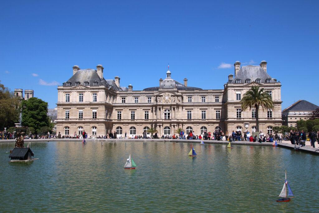 Parijs Jardin de Luxembourg