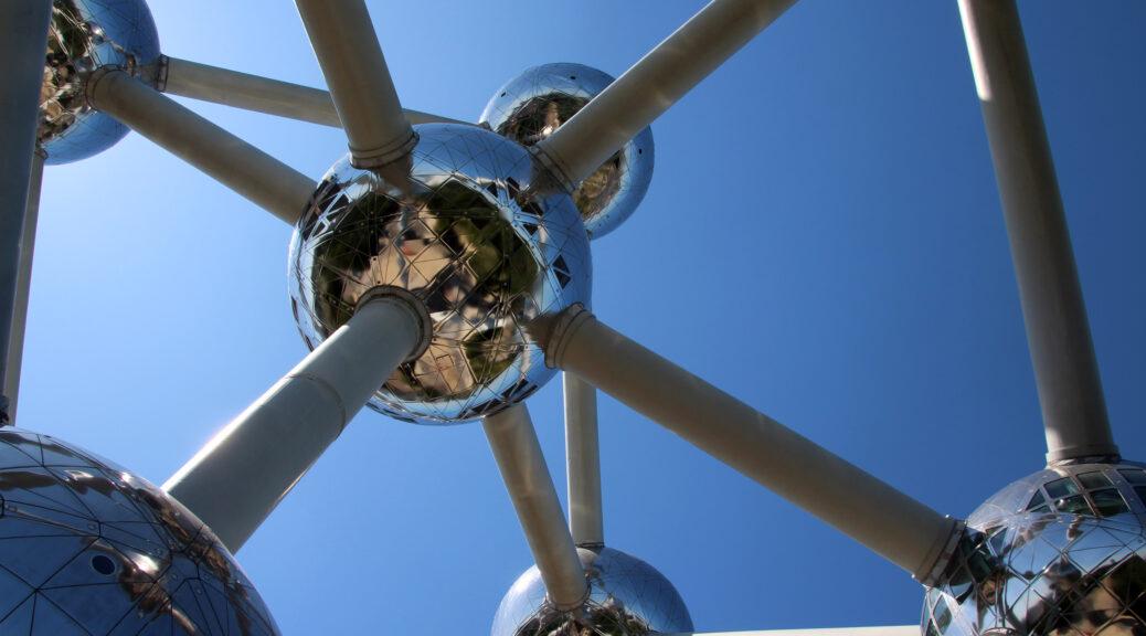 bollen van het Atomium in Brussel