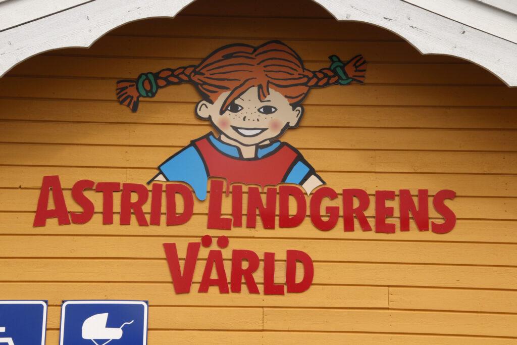 Logo van Astrid Lindgrens Värld