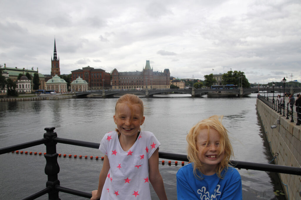 Poseren in Stockholm.