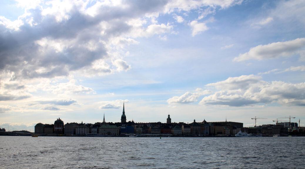 Skyline van Stockholm.