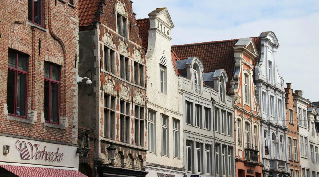 Gevels in Brugge