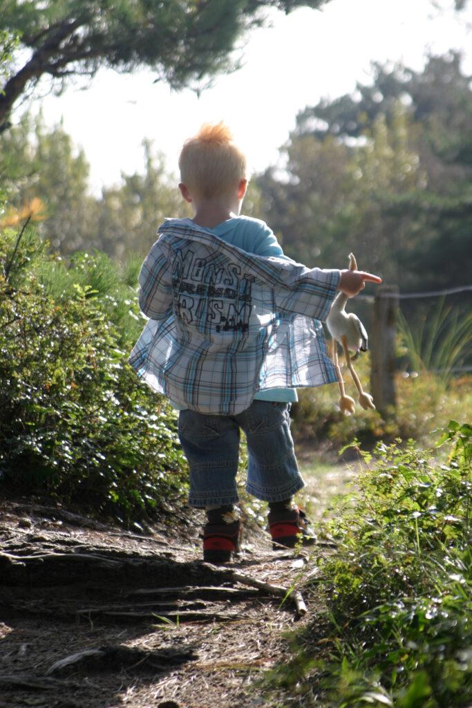 Neem gerust je kinderen mee naar een Nationaal Park, om elke hoek ligt een nieuw avontuur.