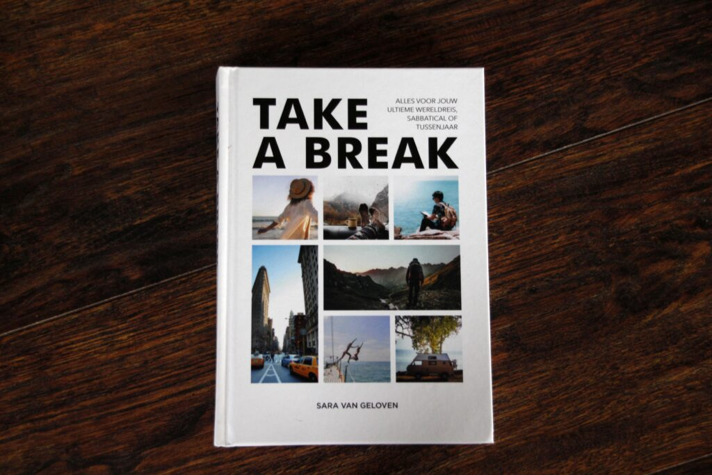 Boek Take a Break van Sara van Geloven