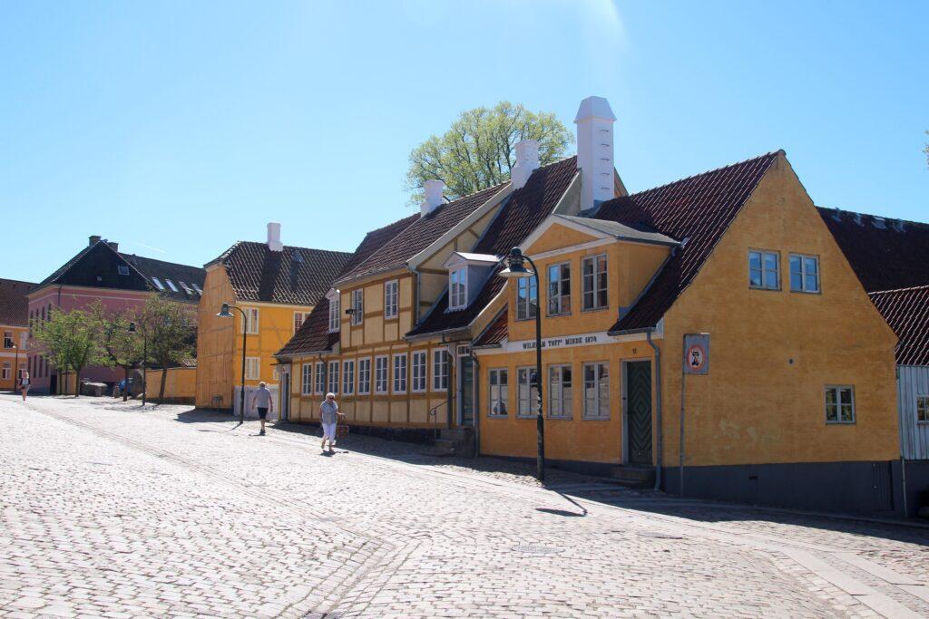 Het oude centrum van Roskilde