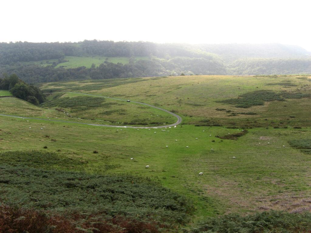Een groot deel van North York Moors bestaat uit de Cleveland Hills.