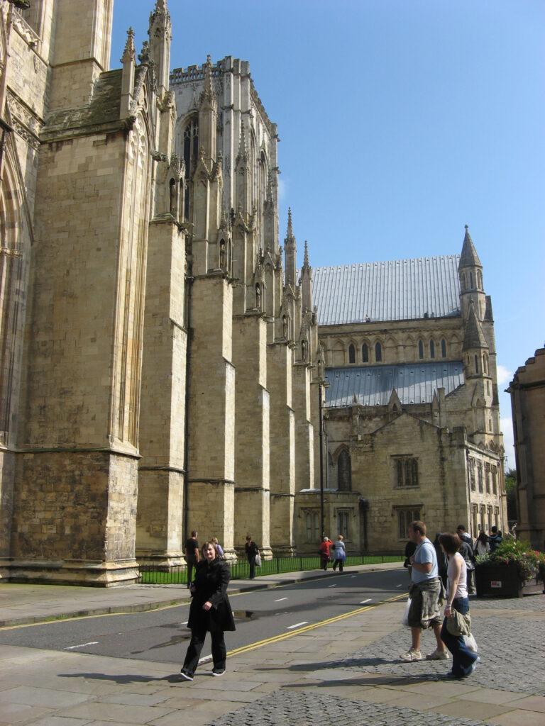 De York Minster is een van de grootste kathedralen van Noord-Europa.