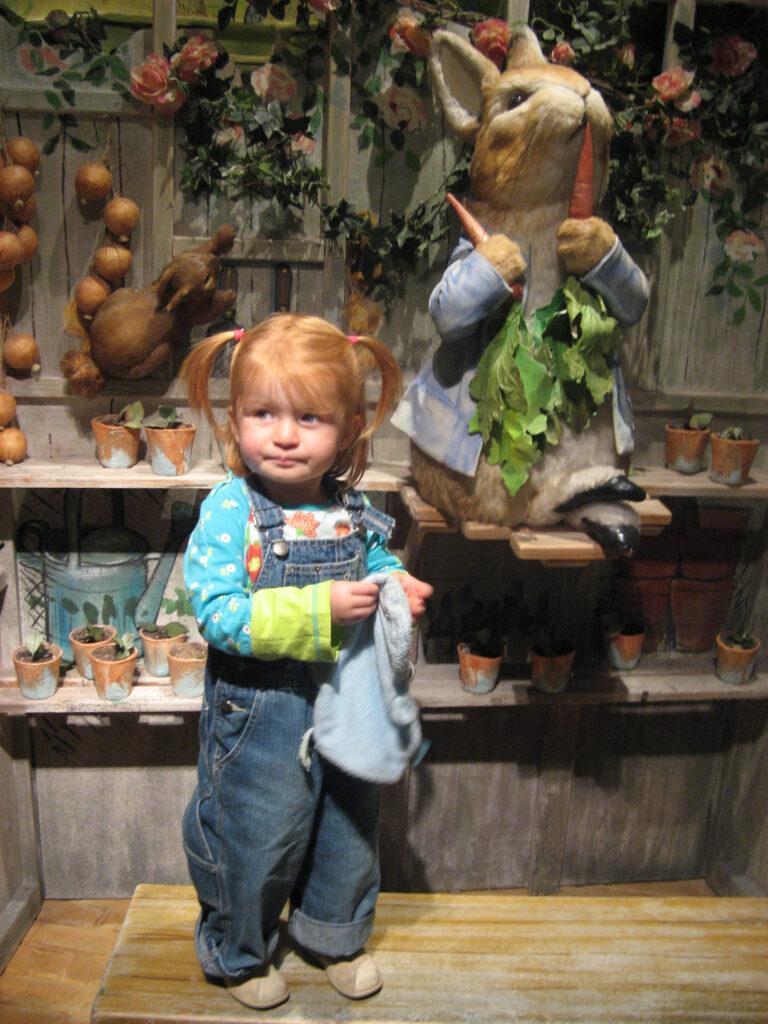 Alle kinderen houden van Pieter Konijn @the World of Beatrix Potter