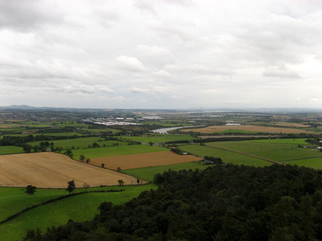 Uitzicht vanaf het National Wallace Monument.