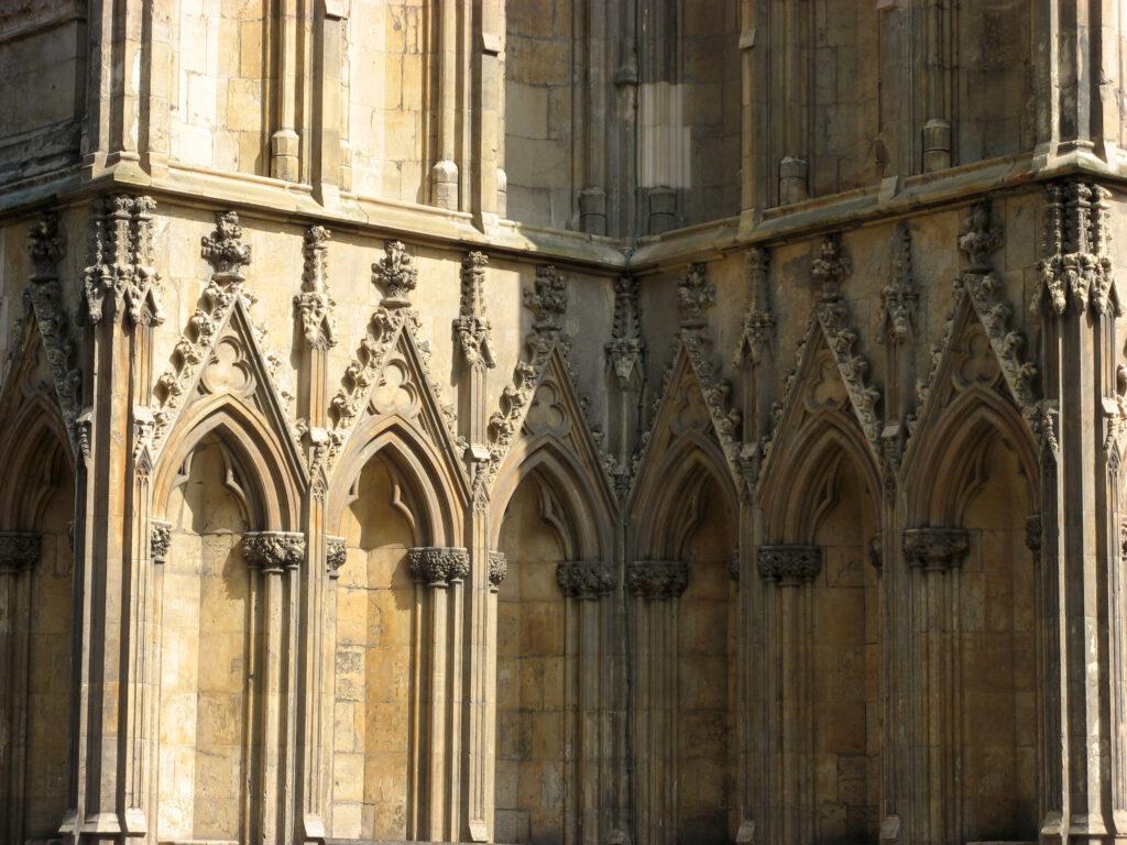 Detail van de York Minster.