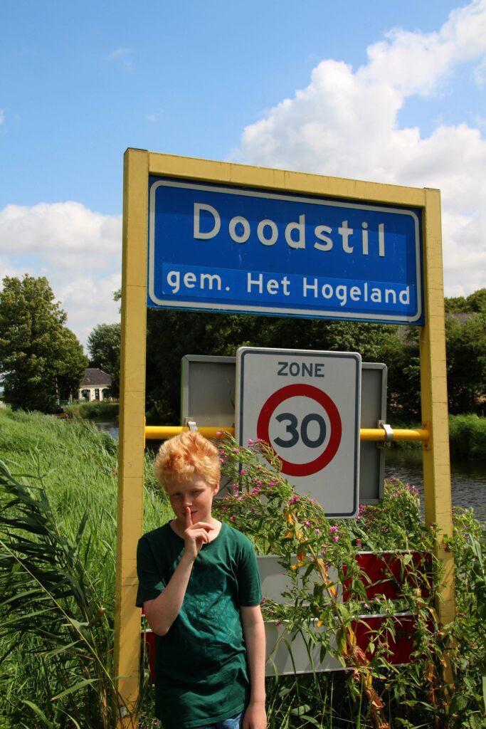Doodstil in Groningen