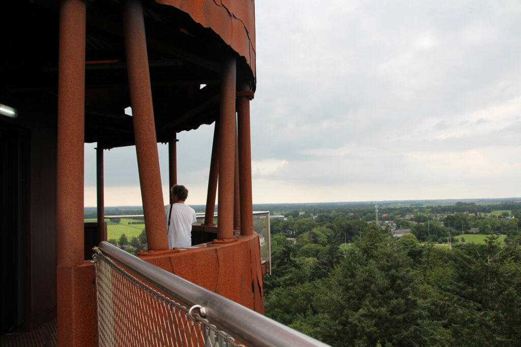 Een bezoek aan de Bosbergtoren in Appelscha