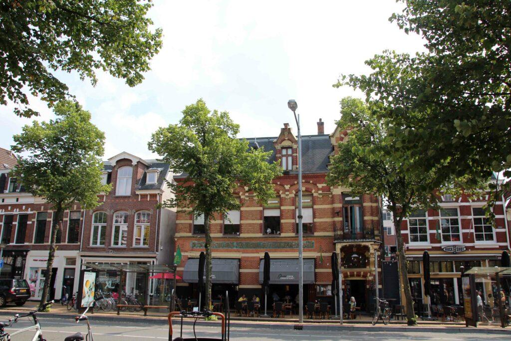 De oude binnenstad van de stad Groningen