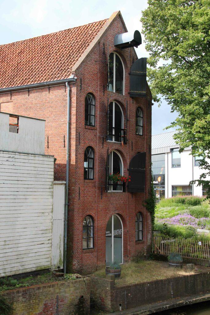 Pakhuis aan het Damsterdiep, Appingedam.
