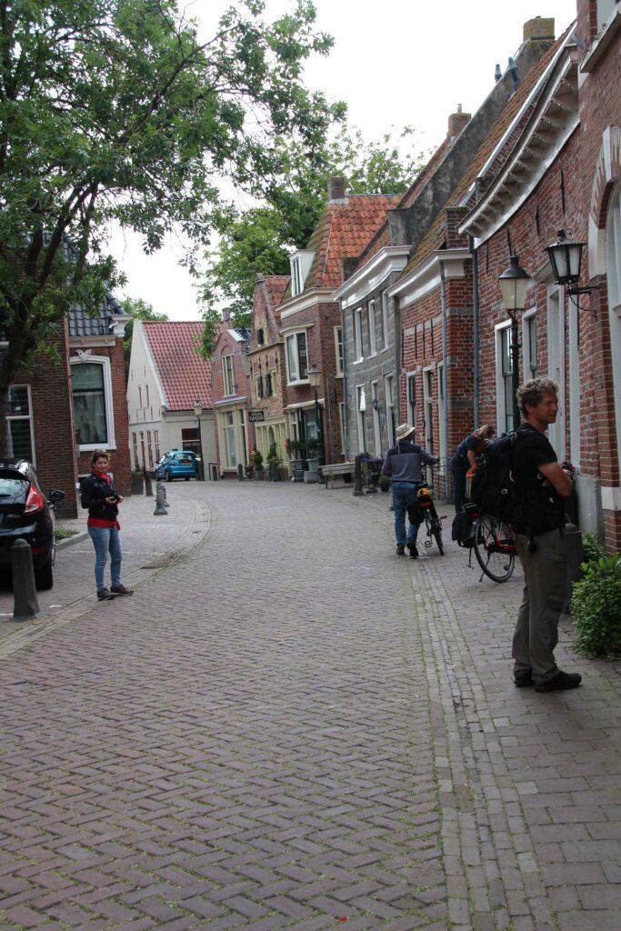 Gezellig straatje in de historische binnenstad van Appingedam.