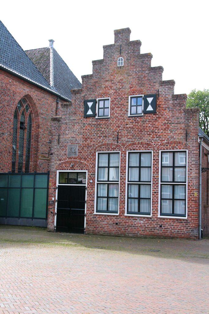 Het gebouw van de Franse School in Appingedam.