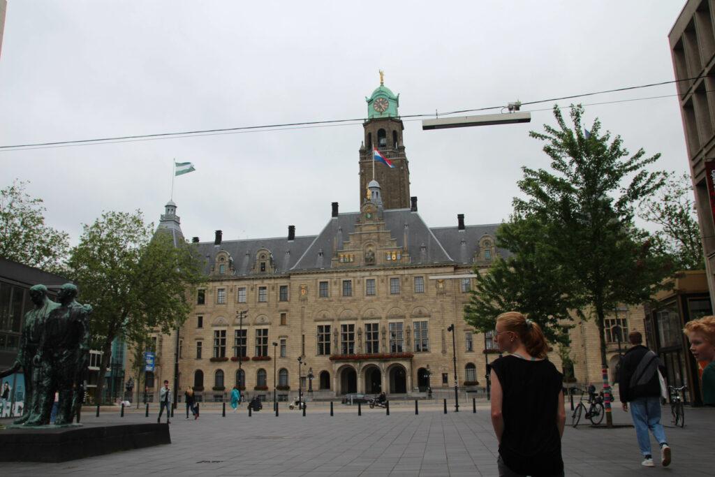 Stadhuis Rotterdam aan de Coolsingel